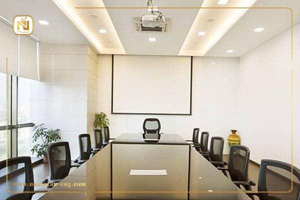 طراحی و تجهیز سالن کنفرانس